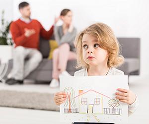 Как делят имущество при разводе с детьми